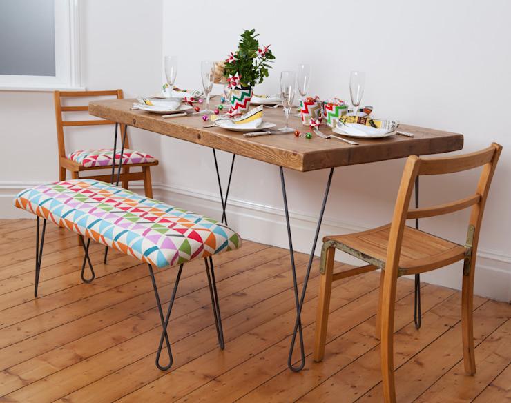 Set de salle à manger de style industriel par Deja Ooh Industrial