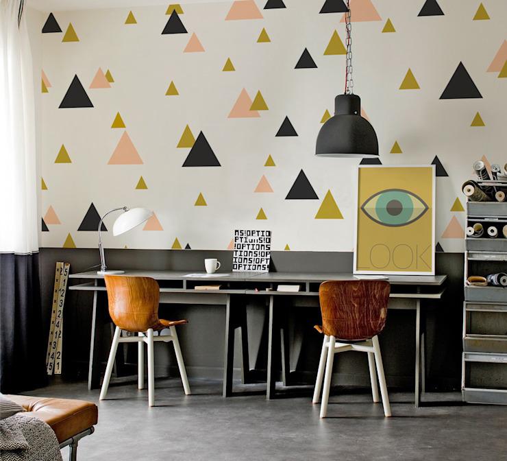 Triangles Etude/bureau de style éclectique par Pixers Eclectic
