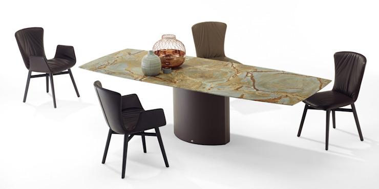Table à rallonge Adler : moderne par IQ Furniture, Modern Stone