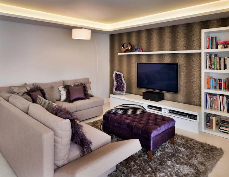 Le salon de Buckland Crescent par Living in Space