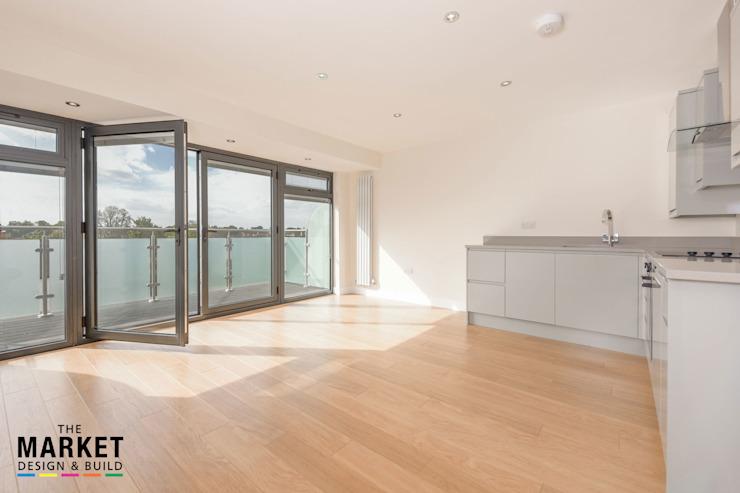 NOUVEAU PENTHOUSE DE LONDRES CONSTRUIT par The Market Design & Build Modern