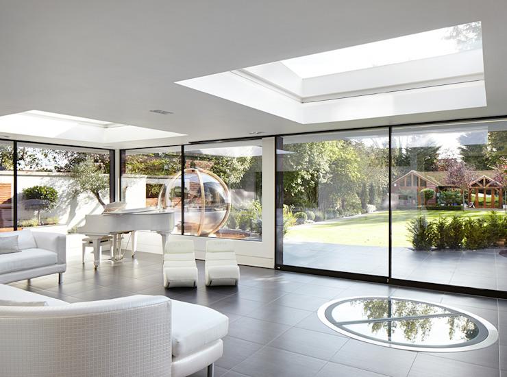 Forest View Salon moderne par Clear Architects Modern