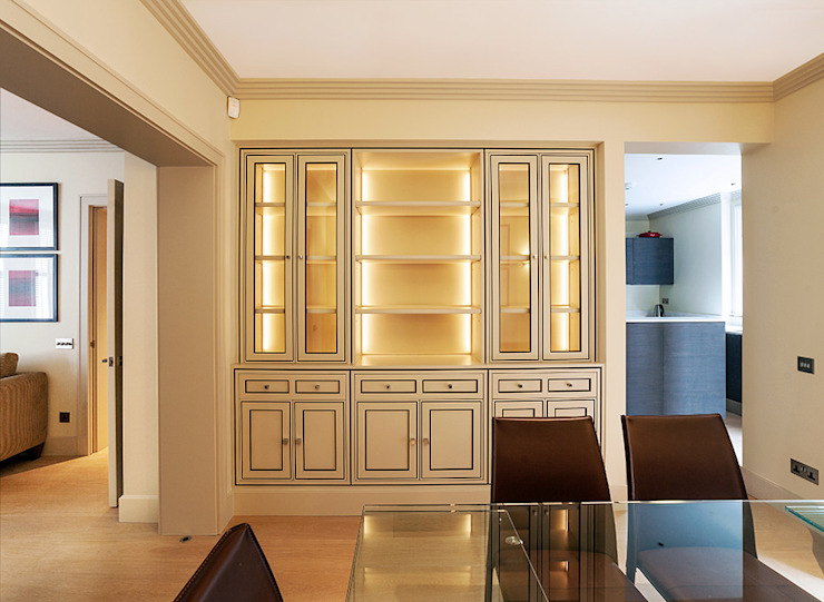 Salon - Salle à manger Salon moderne par Prestige Architects Par Marco Braghiroli Modern