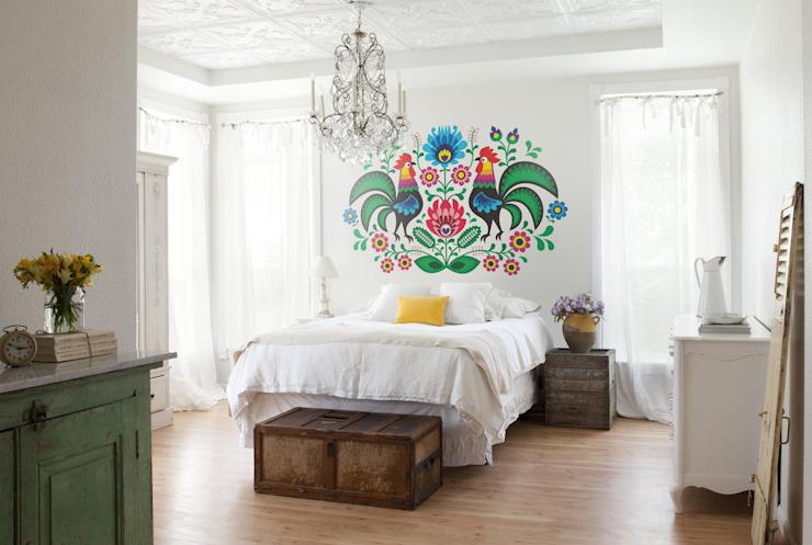 Folk Pixers Chambre à coucher style champêtre Multicolore