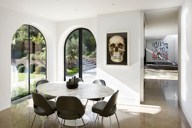 Salle de petit-déjeuner Salle à manger moderne par Patalab Architecture Modern Stone