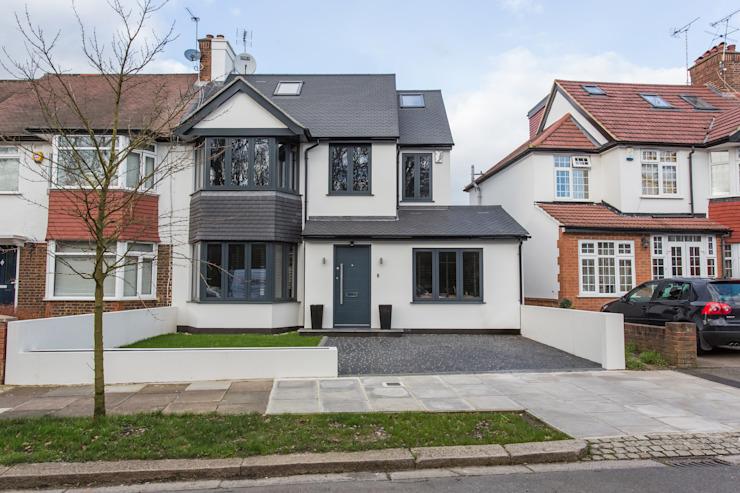 Whitton Drive GK Architects Ltd Maison en terrasse