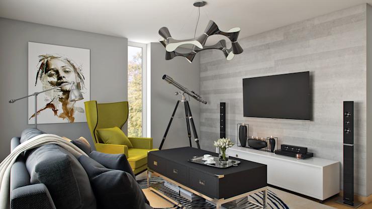 Salon Salon moderne par Hampstead Design Hub Modern