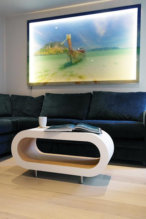 Wharf Road, Islington Salon moderne par Patience Designs Modern