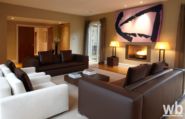 Maison familiale privée Maisons modernes par Wilkinson Beven Design Modern