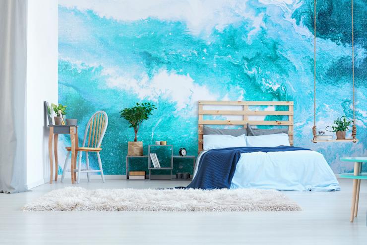 Heavenly Ocean Chambre à coucher de style moderne par Pixers Modern