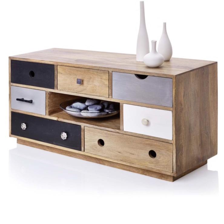 Table de rangement ou meuble TV : moderne par Dupere Interior Design, effet bois moderne