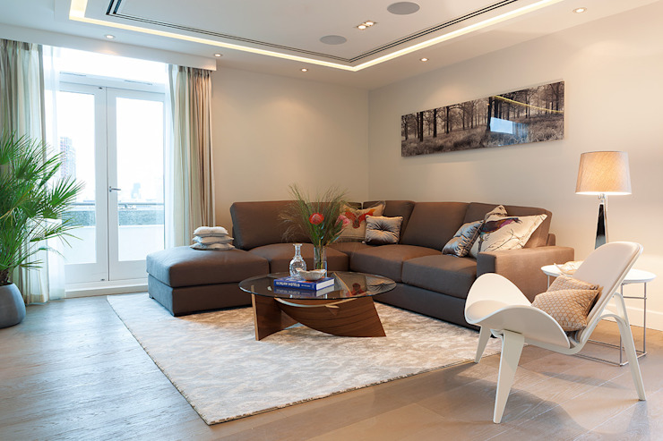 Duplex à Londres par Hartmann Designs Ltd