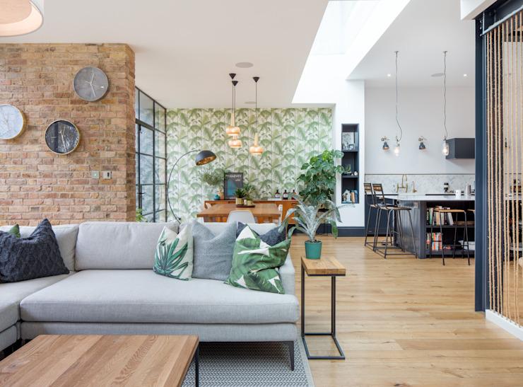 Espace de vie Salon moderne par TAS Architects Modern