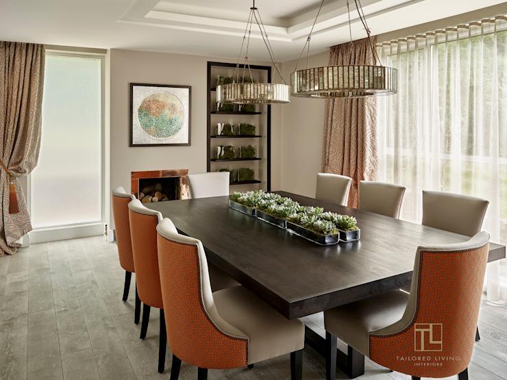 Salle à manger élégante Salle à manger moderne par Tailored Living Interiors Modern