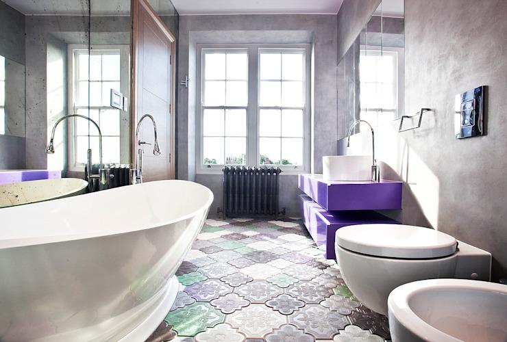 Salle de bain Salle de bain moderne par Roselind Wilson Design Modern