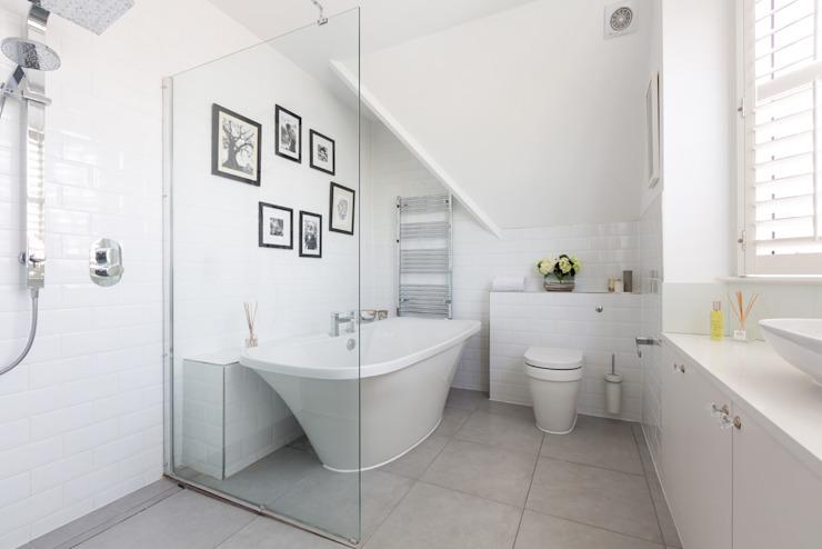Broadgates Road SW18 Salle de bain minimaliste par BTL Property LTD Minimaliste