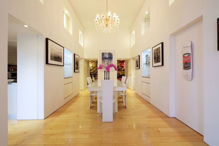 Salle à manger London Loft Modern par JKG Interiors Modern