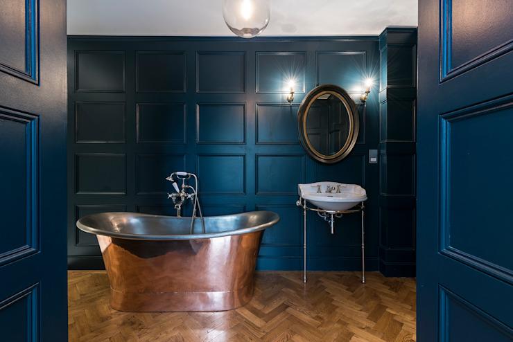 Rénovation complète sur Trinity Road, Londres Salle de bains moderne par Grand Design London Ltd Modern