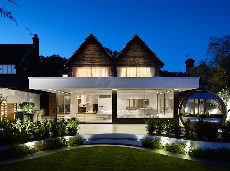 Forest View Balcon, véranda et terrasse modernes par Clear Architects Modern