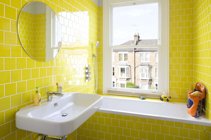 Huddleston Road Salle de bain moderne par Sam Tisdall Architects LLP Modern