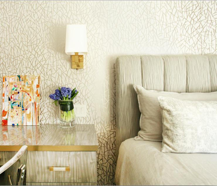 Art Collectors Residence Bureau/étude de style classique par JKG Interiors Classic Bois massif multicolore