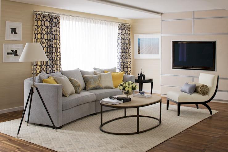 Salon Salon de style classique par Roselind Wilson Design Classic