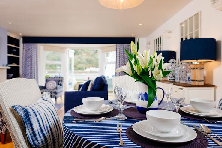 Blue Moorings, Dartmouth | Salle à manger de style éclectique du Devon par Perfect Stays Eclectic