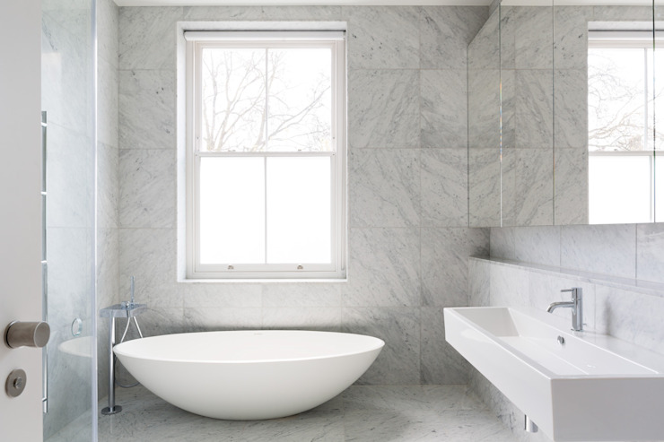 Carlton Hill, Londres Salle de bain minimaliste par Gregory Phillips Architects Minimalist
