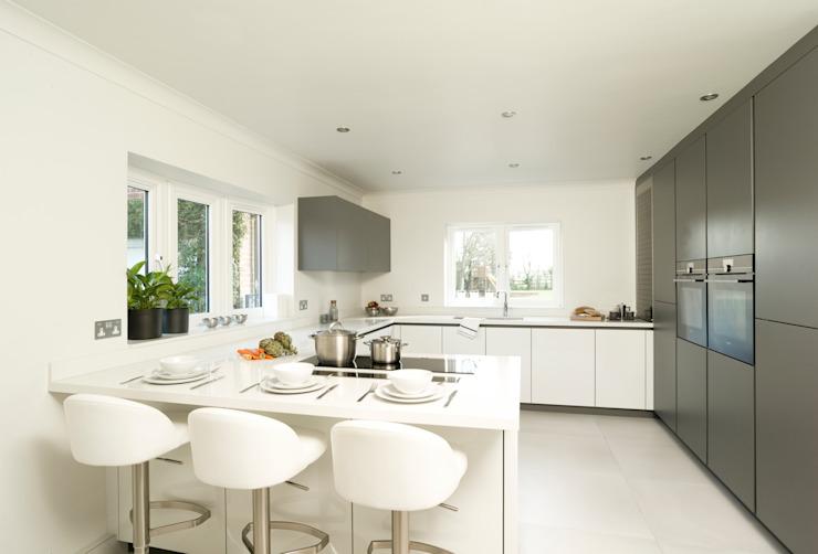 Urban Style Matt Lava Grey & White Gloss by Urban Myth Modern