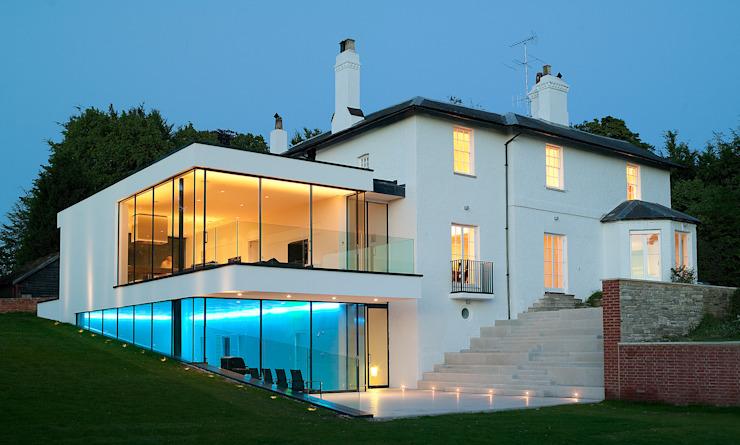 Les maisons de Guildford Modern par Gregory Phillips Architects Modern