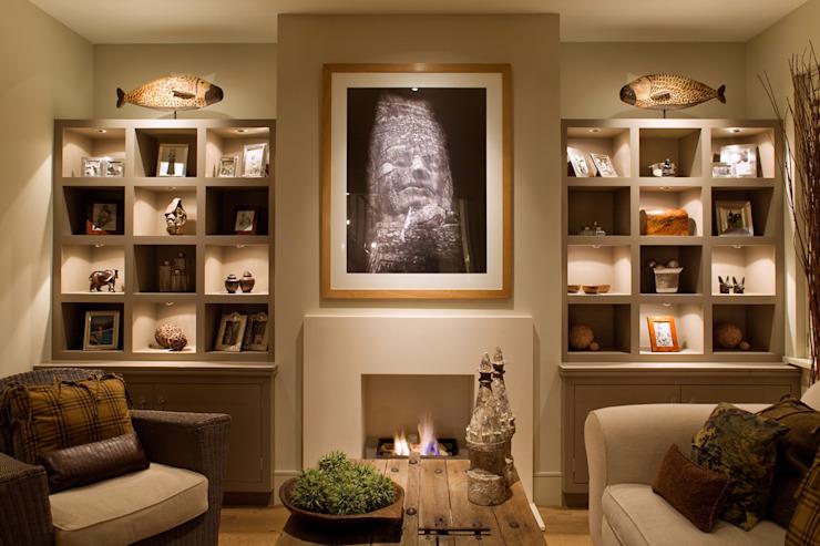 Portfolio Showcase Etude/bureau moderne par John Cullen Lighting Modern