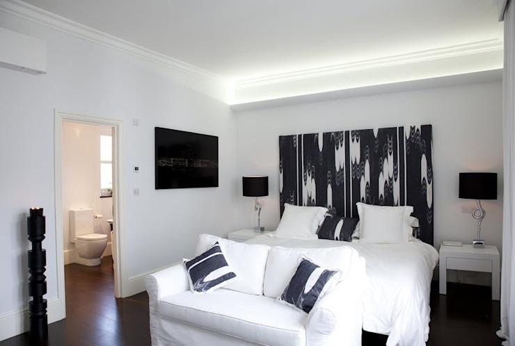 Historic House, Notting Hill, Londres Chambre à coucher de style classique par 4D Studio Architects and Interior Designers Classic
