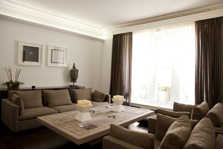 Historic House, Notting Hill, Londres Salon de style classique par 4D Studio Architects and Interior Designers Classic