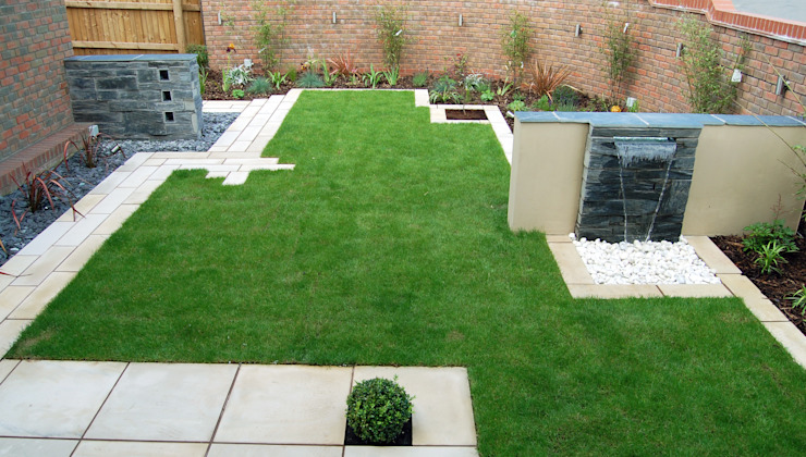 Le jardin Lollipop Jardin moderne de Robert Hughes Garden Design Modern