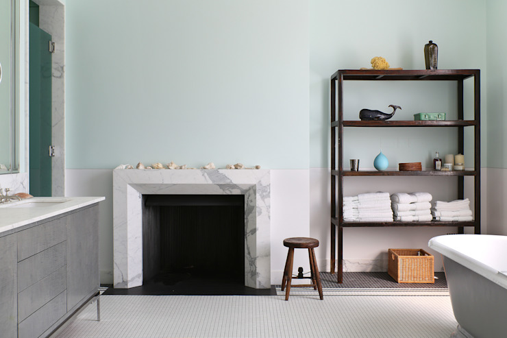 Notting Hill home Salle de bain minimaliste par Alex Maguire Photographie Minimaliste
