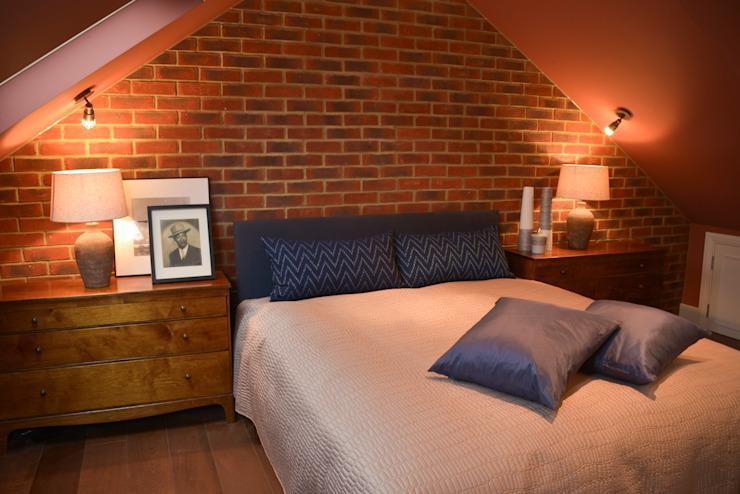 Une conversion de loft où New York rencontre Marrakech Chambre à coucher de style éclectique par Cathy Phillips & Co Eclectic