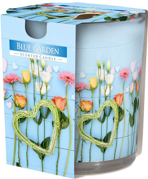 Bougie parfumée en verre, emballée sous film et présentée dans un emballage attrayant avec six beaux motifs : classique de la London Candle Company, classique