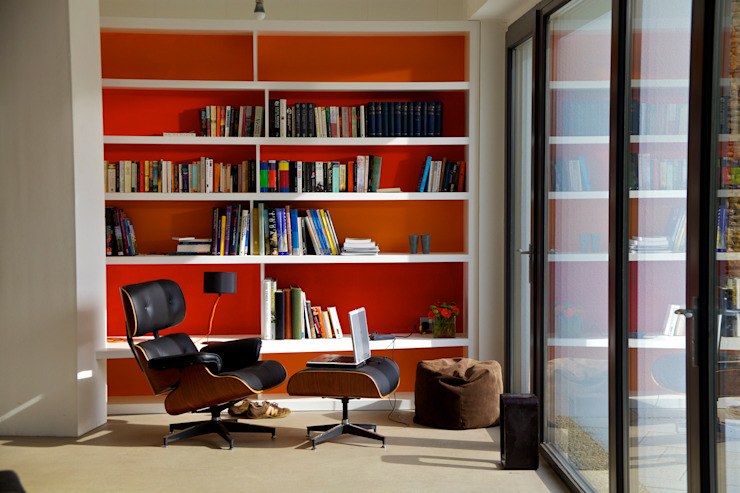 Underhill House PPS7 Étude/bureau moderne par Seymour-Smith Architects Modern
