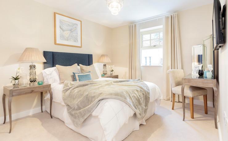Wykeham Court par WN Interiors Chambre à coucher de style moderne par homify Modern