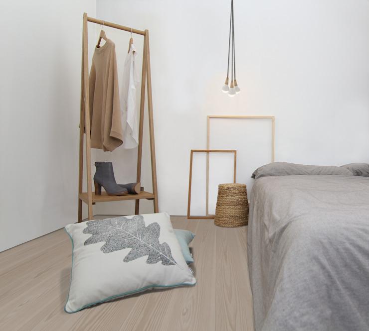Clapham Common Flat 2 YAM Studios Chambre à coucher de style scandinave