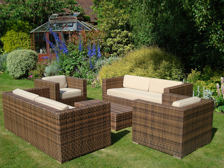 Arizona Sofa Suite : modern by Garden Furniture Centre, Modern