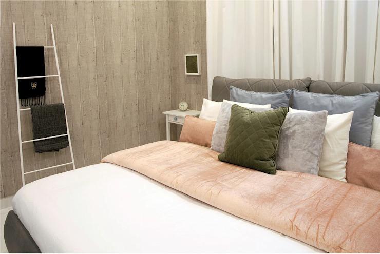La chambre grise Chambre de style éclectique par Aorta : le cœur de l'art éclectique