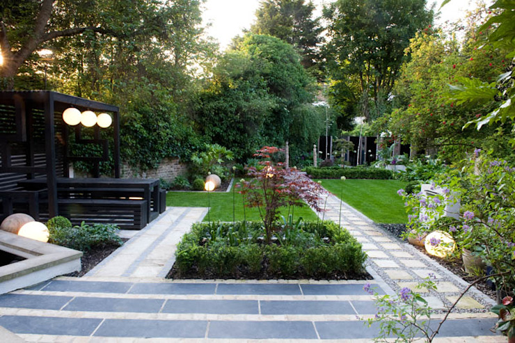 Plantation de style japonais Jardin moderne par Earth Designs Modern