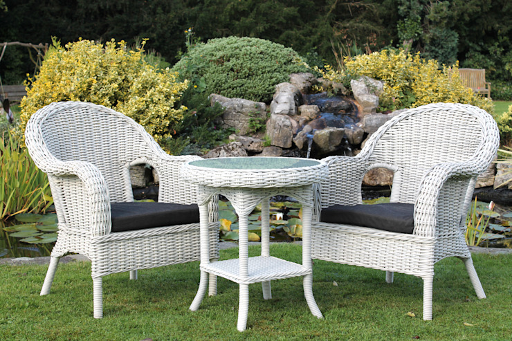 Madrid Bistro Set : moderne par Garden Furniture Centre, Moderne