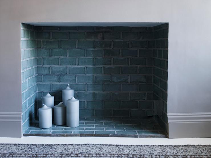 La cheminée est l'incarnation du salon moderne