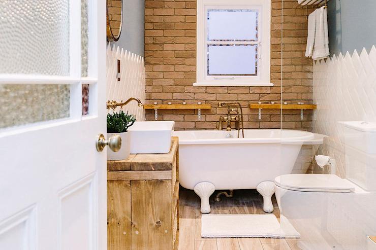 Salle de bains moderne Salle de bains moderne par Resi Architects à Londres Moderne