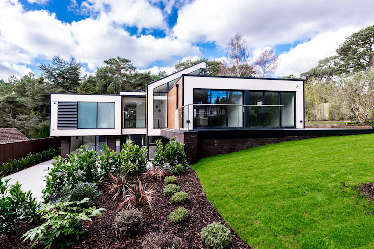 18 Bury Road, Branksome Park Maisons modernes de David James Architects & Partners Ltd Modern