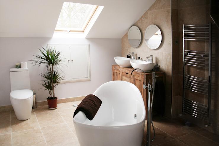 Chiswick, Hounslow W4, Londres   Extension de la maison Salle de bains moderne par GOAStudio   Architecture résidentielle londonienne Moderne