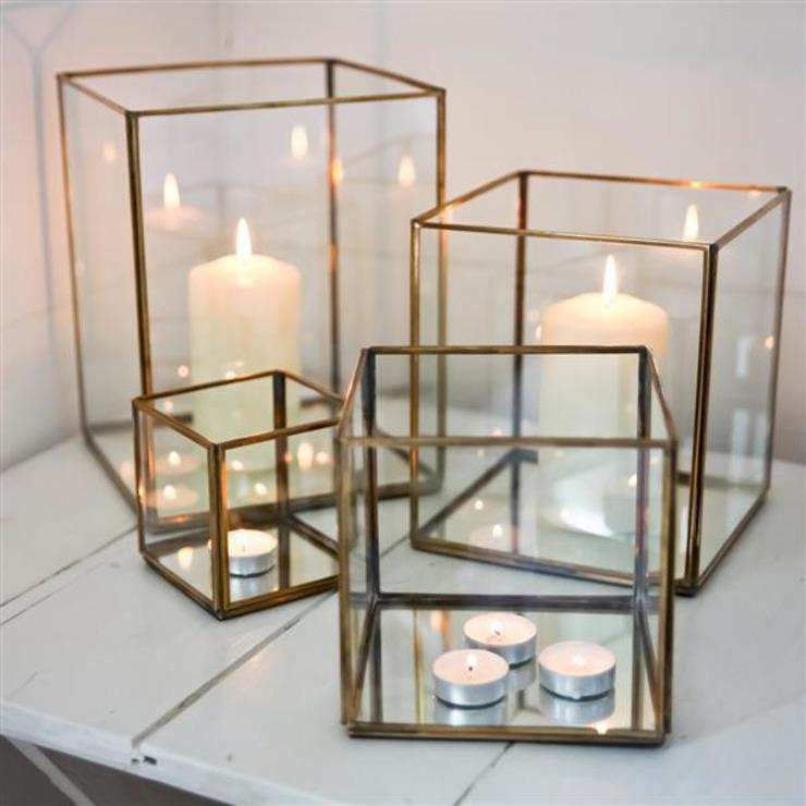 Lanternes en cuivre Bimala : éclectique par Decorum, Eclectique