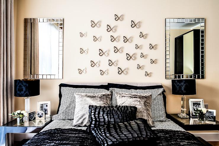 Chambre à coucher Chambre à coucher de style moderne par Lujansphotography Modern